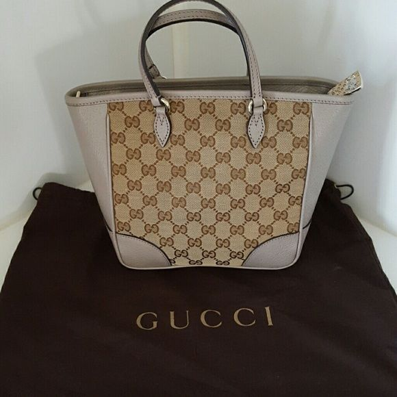 6e5043958 Gucci Bree Guccissima tote Can be used as a tote handbag, shoulder bag, or  a crossbody bag. Comes with dustbag, adjustable strap at a 20
