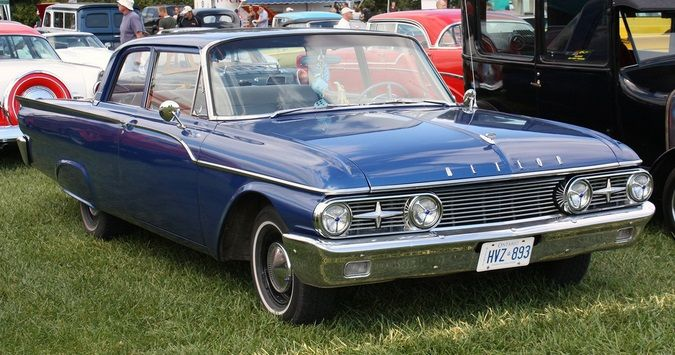 1961 Meteor Rideau (Canada) Sold by Mercury Dealers as a lower ...