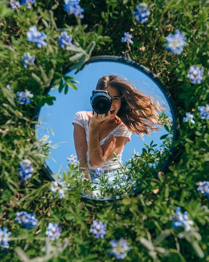 430+Creative Mirror Photography Ideas and Tips