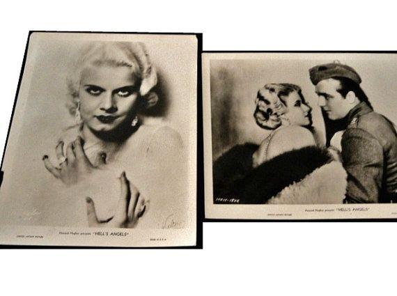 Jean Harlow Howard Hughes' Hell's Angels by RustbeltTreasures, $68.00
