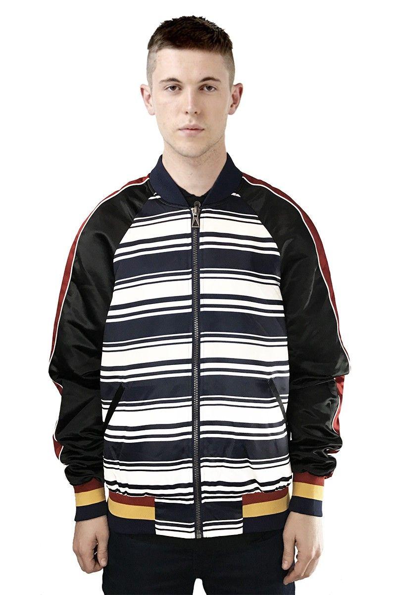 Elevenparis Jorian Graphic Bomber Jacket Modesens Jackets Bomber Jacket Mens Jackets [ 1200 x 800 Pixel ]
