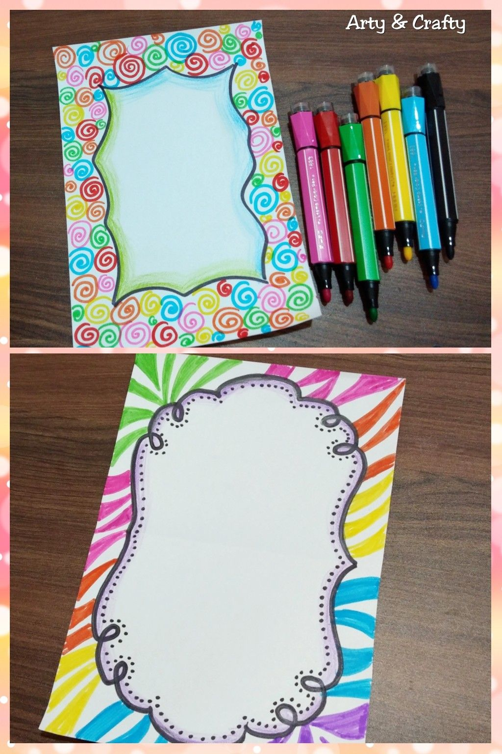 Easy Page Borders Simple Border Designs To Draw