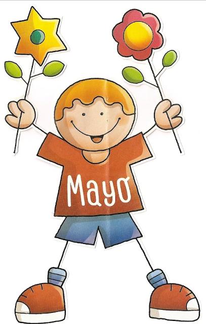 Tu Tarea Mes De Mayo Maestros De Preescolar Portadas De Cuadernos Decoracion De Unas