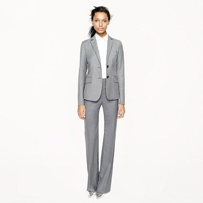 1035 jacket in Super 120s - Super 120s - Women's suiting - J.Crew ...