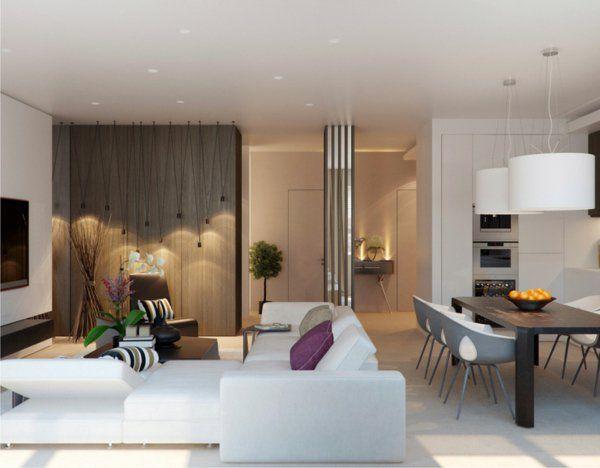 Wundervoll 43 Prächtige Moderne Wohnzimmer Designs Von Alexandra Fedorova