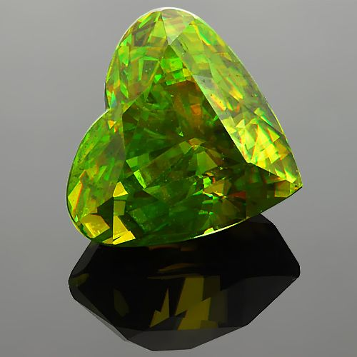 sphene is a collector with an unusually high