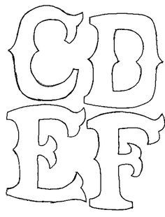 Appliques free templates letters and directions stenciling appliques free templates letters and directions spiritdancerdesigns Images