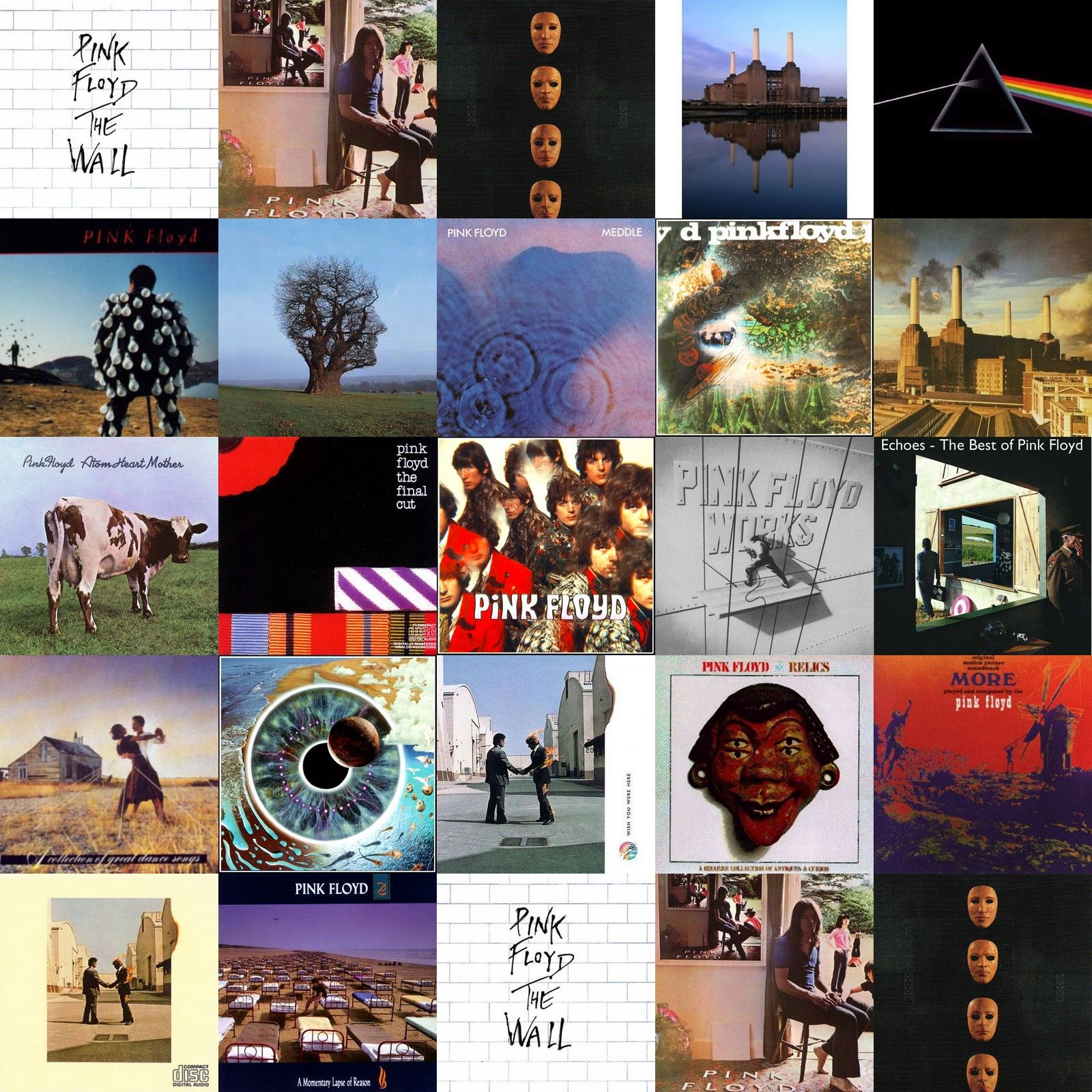 Algunos De Los Discos De Pink Floyd Musica Em 2019 Pink Floyd