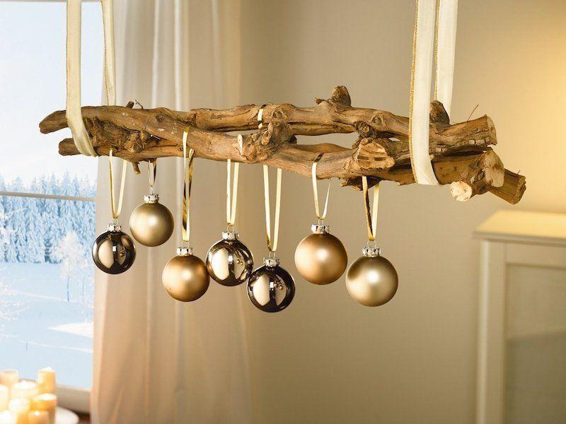 Weihnachtsdeko hangend basteln