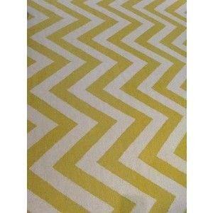 Yellow Chevron Rug Herringbone Rug Chevron Rugs Custom Carpet