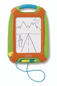 Amazon.com: Fisher-Price Doodle Pro Travel Green: Toys & Games