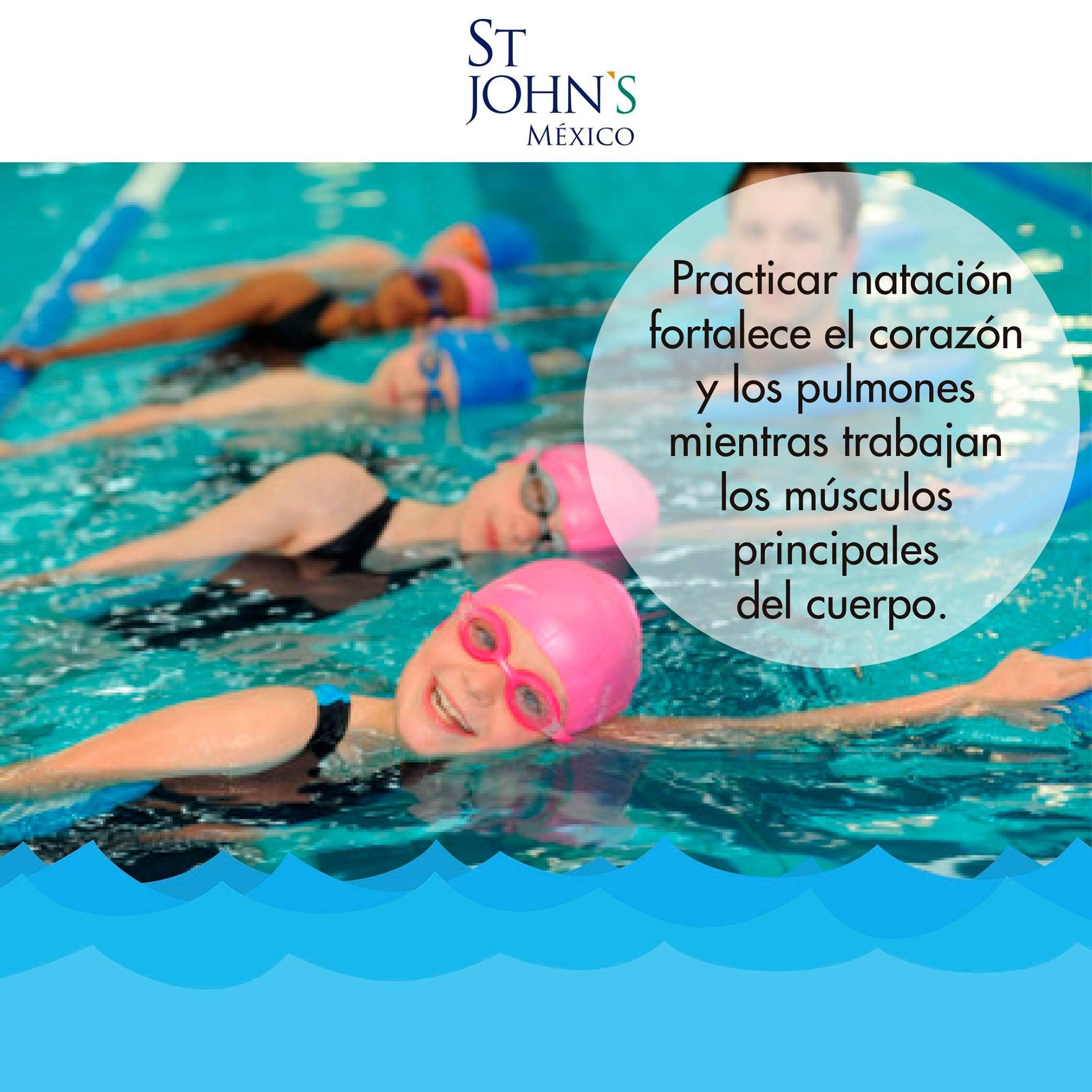 ¡Ven con toda la familia a conocer nuestros horarios de natación! 😎 🏊 😎