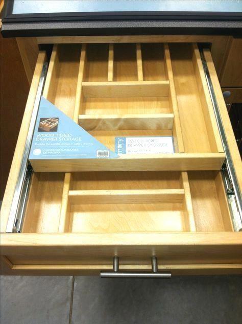 Rev A Shelf 4 25 In H X 11 5 In W X 21 In D Tiered Cutlery Drawer With Soft Close Blum Slides 4wtcd 15sc 1 The Home Depot Kitchen Drawers Diy Kitchen Storage Kitchen Renovation