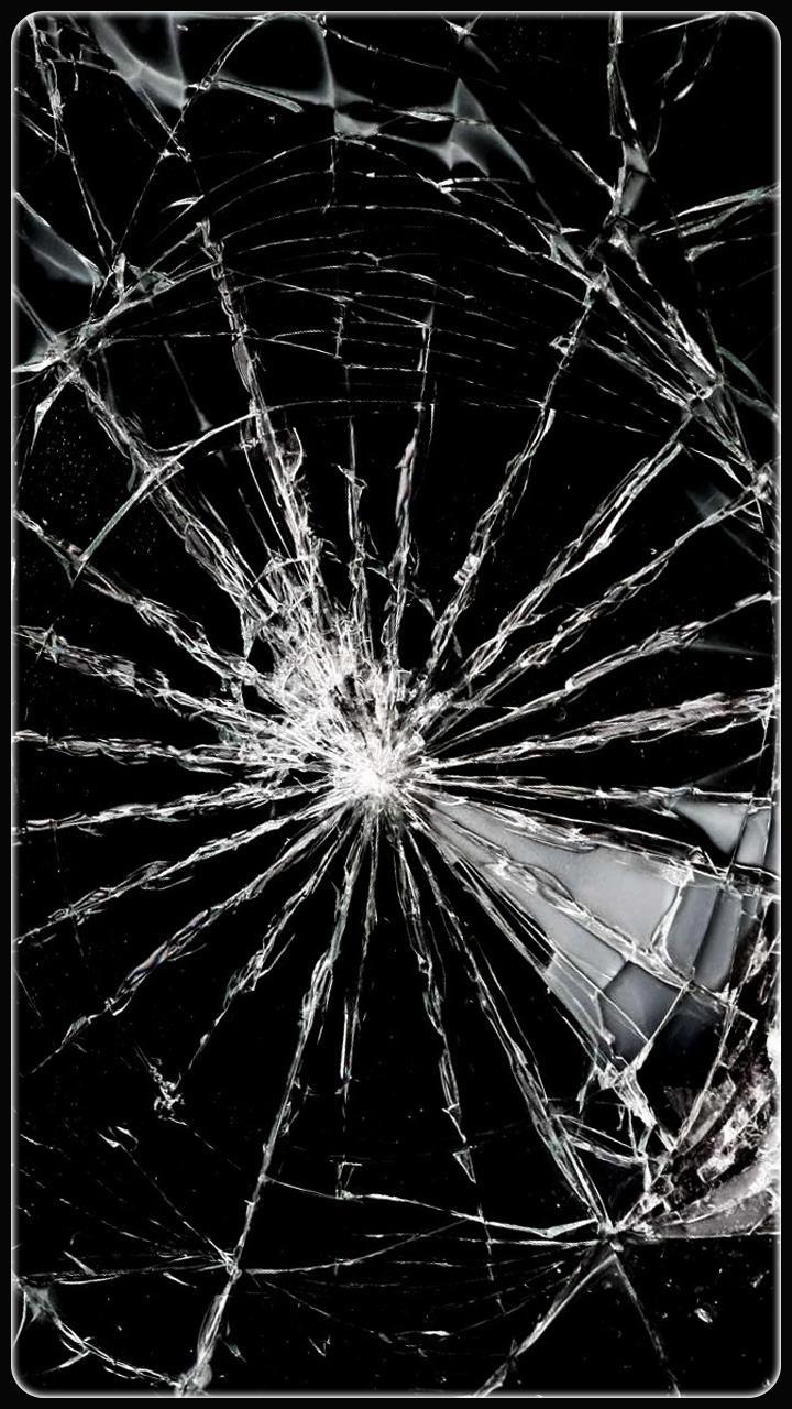 Realistic Cracked Screen Wallpaper Broken Screen Wallpaper Broken Screen Screen Wallpaper
