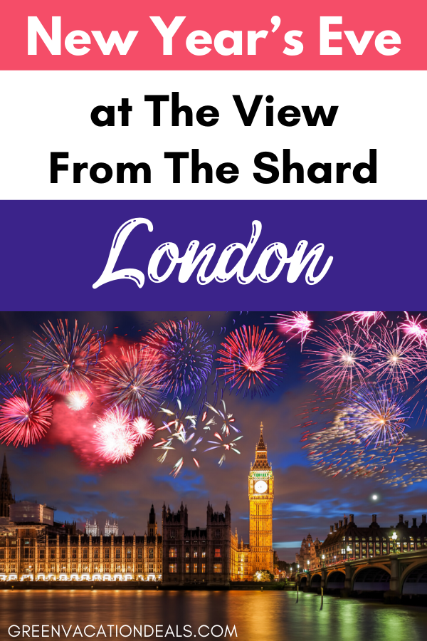 New Year's Eve At The View From The Shard In London
