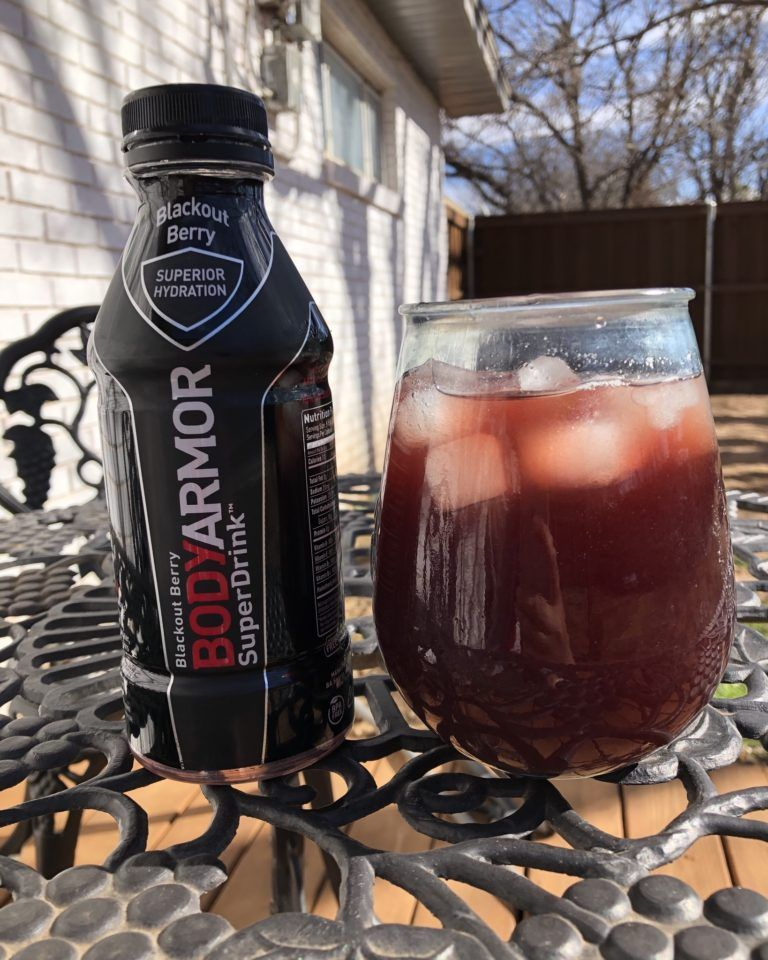 Homemade Black Cherry BA style Sports Drink Recipe in