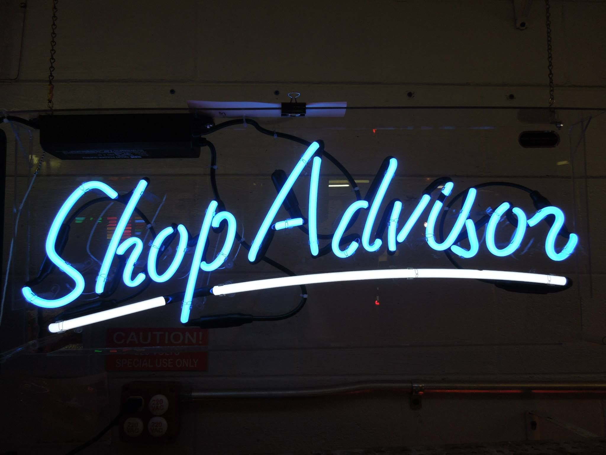 Shop Advisor Neon Sign In 2020 Neon Signs Custom Neon Signs Neon Signs For Sale