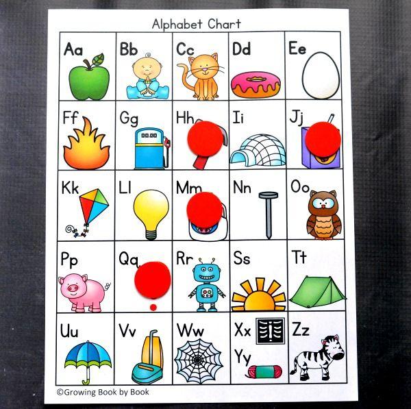 6 Ways To Use An Alphabet Chart Free Alphabet Chart Alphabet Chart Printable Alphabet Charts