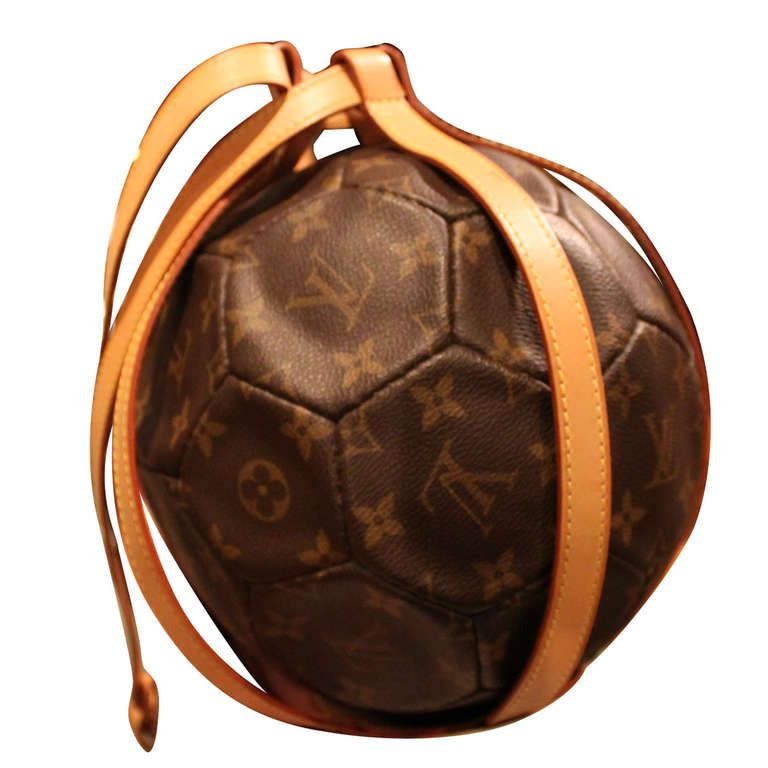 Louis Vuitton Limited Soccer Ball To Commemorate The 1998 World Cup In France Product Design Louis Vuitton Best Handbags Louis Vuitton Monogram
