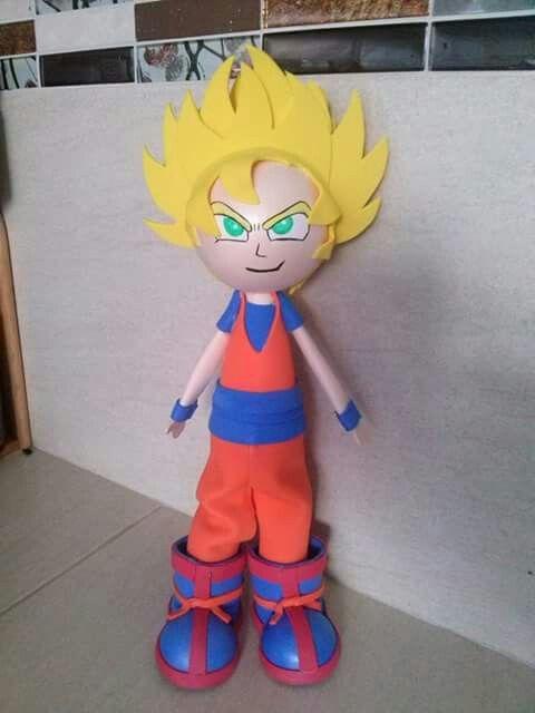Fofucho Goku Super Sayayin Goku Disfraces Dragon Ball Z