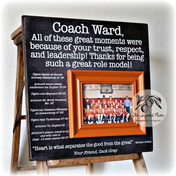 Coaches Gift Custom Personalized Gift For Coach By Thesugaredplums Cheer Coach Gifts Basketball Coach Gifts Coach Gifts