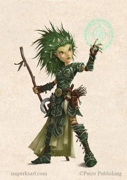 Female Gnome: Pin By Aaron Rockwell On Fantasy Characters In 2019