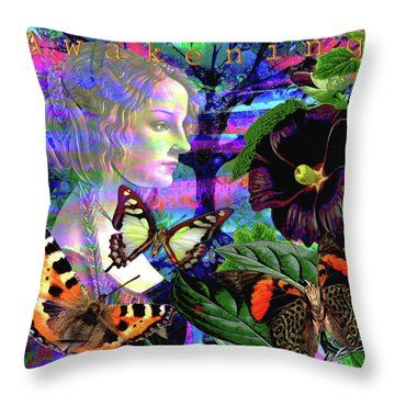 Solar Daydreamer Throw Pillow by Joseph Mosley