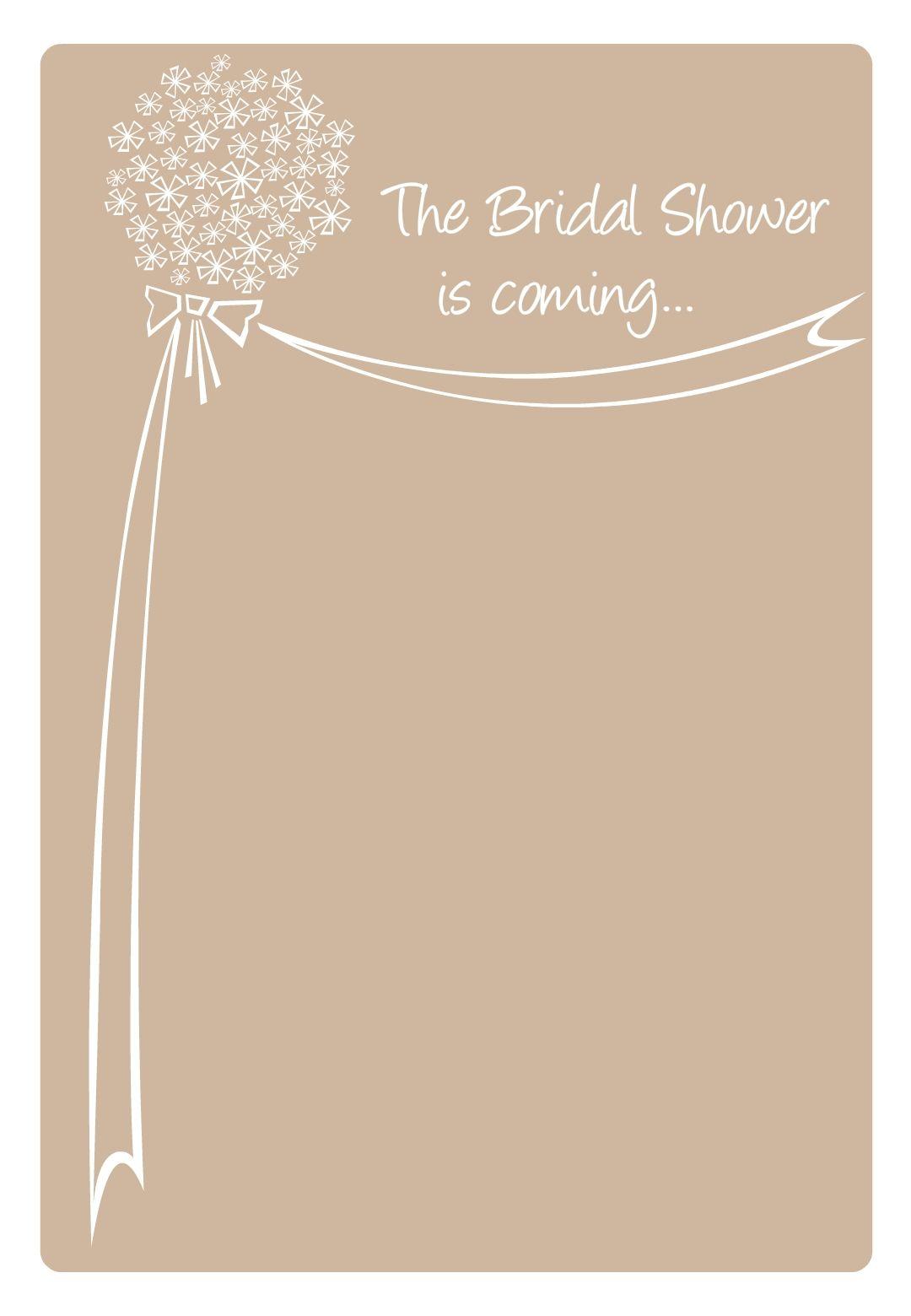 free printable bridal shower is coming invitation | free printables