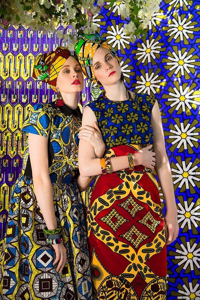 STITCH & STEEL African prints, ankara wax fabric