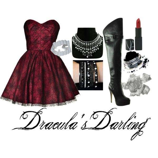 Dracula\u0027s Darling\ - halloween costume ideas from your closet