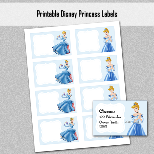 graphic regarding Free Printable Food Labels for Party titled Absolutely free Printable Disney Princess Foods Labels Do-it-yourself and crafts