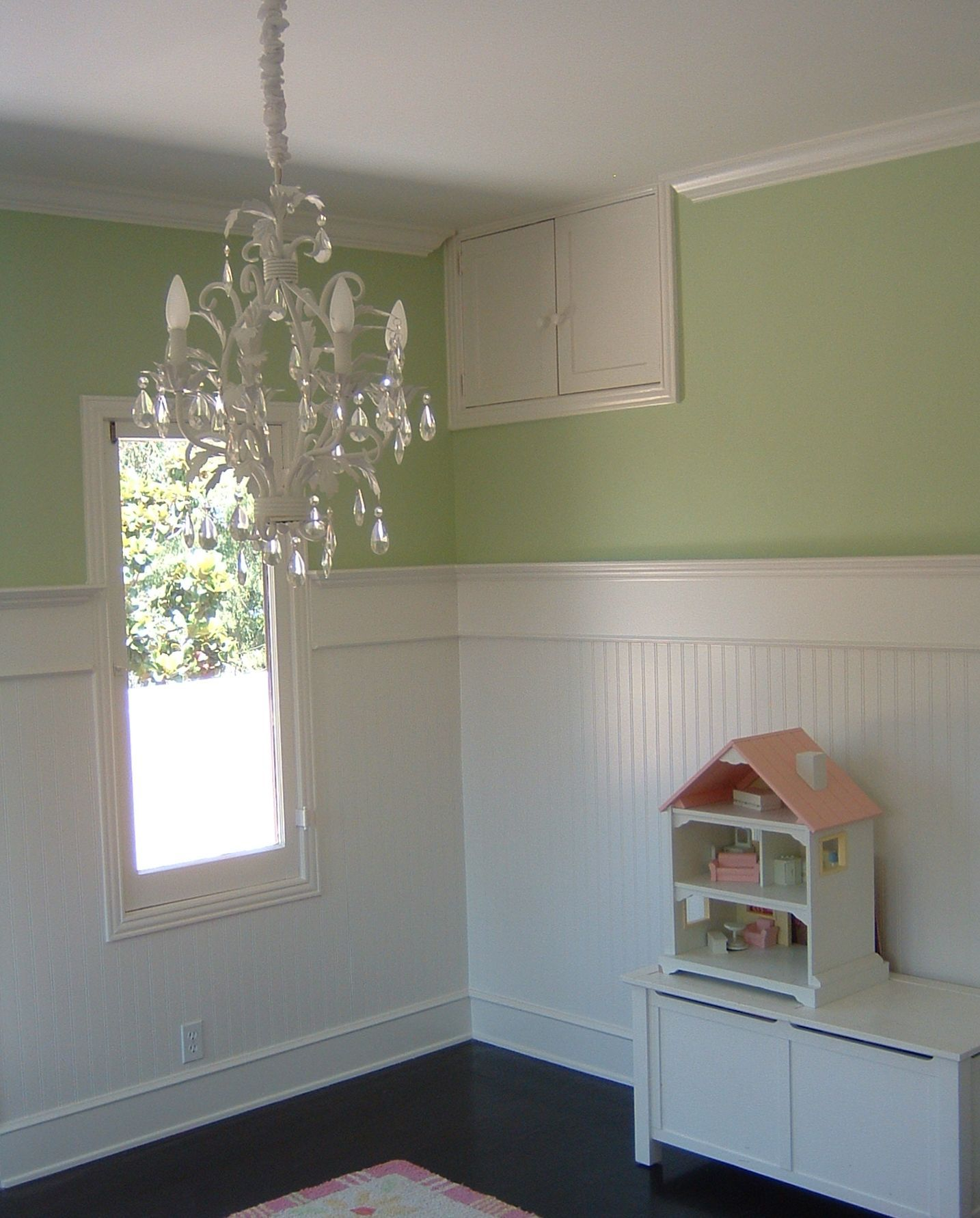 lovely living rooms beadboard | The upstairs bedrooms....using beadboard. I love how tall ...