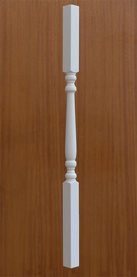 Best 41Mm Primed White Colonial Stair Spindles With Images 400 x 300