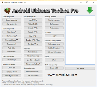 Download Android Ultimate Toolbox Pro 1 2 0 | TECH UPDATES