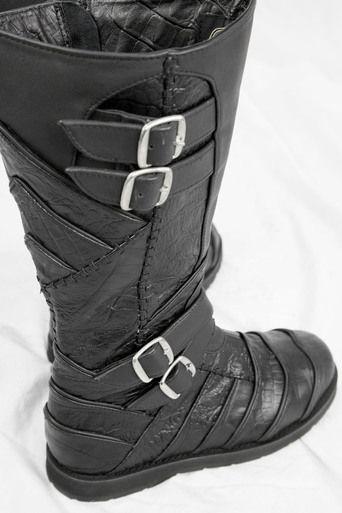 Dragon Skin Moto Boots by Ayyawear - 2015 Verillas