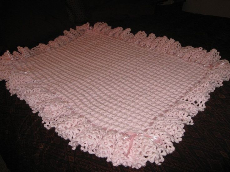 baby+afghans+crochet | Crocheted Baby Afghan | Baby Ideals