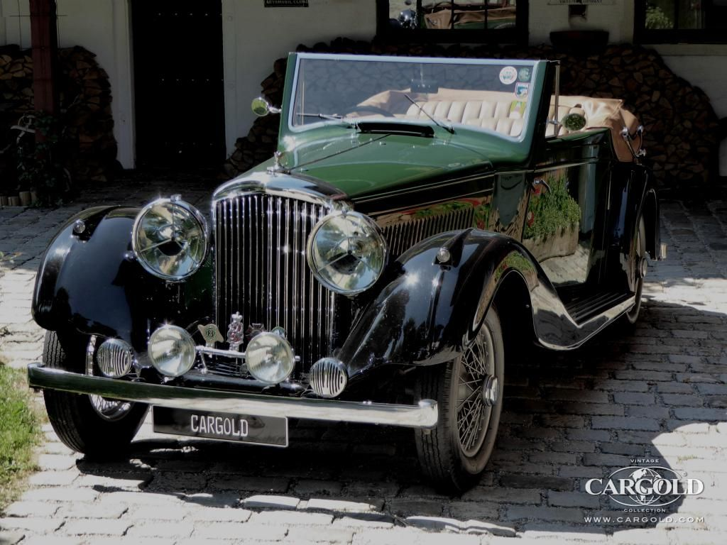 Stocklist bentley 4 litre drophead coup mayfair 1936 for sale