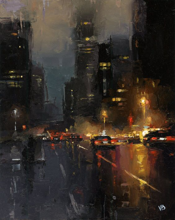 ☆ A Night in New York City :¦: Artist Victor Bauer ☆