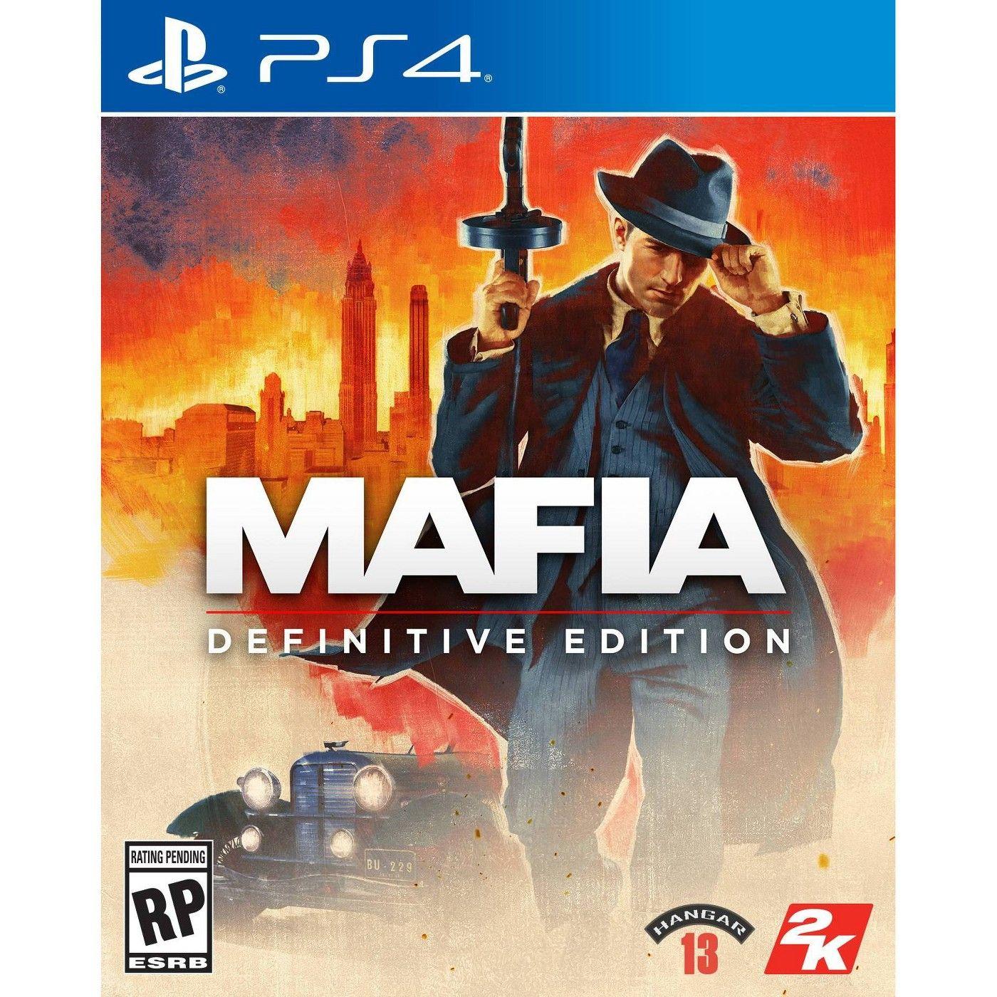 Mafia Definitive Edition Playstation 4 In 2021 Mafia Mafia Crime Crime Family
