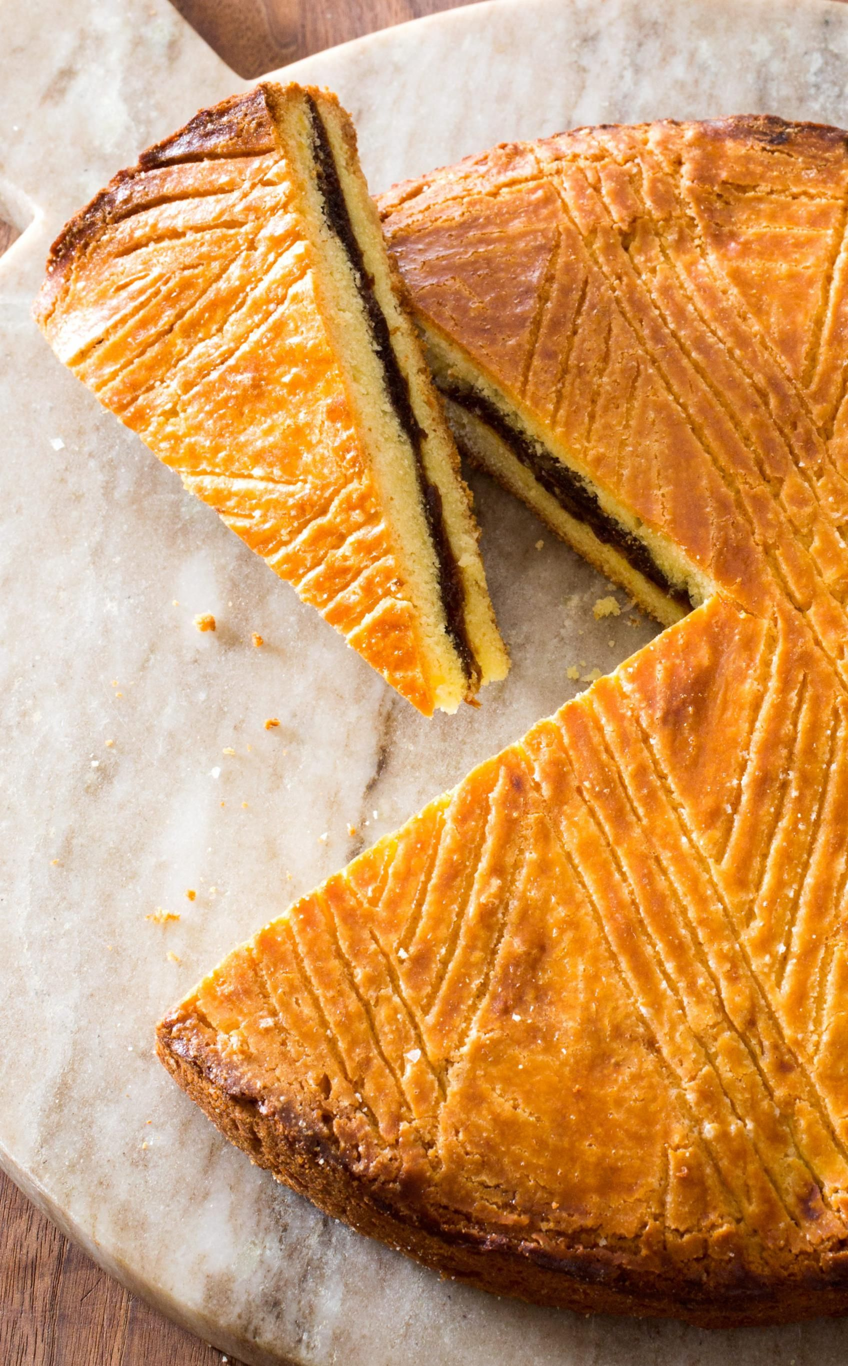 Gateau Breton With Apricot Filling Hailing From France S