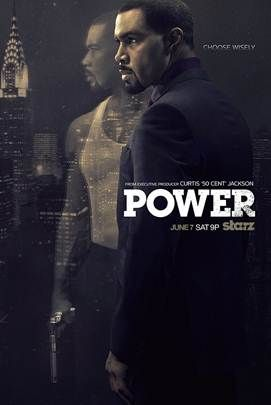 Starz Sets Premiere Date For Drama Power Releases Key Art Theme Song By 50 Cent