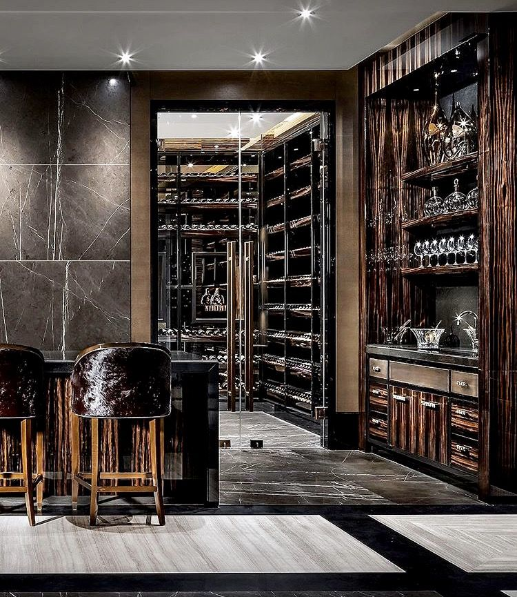 Gorgeous Wine Cellar Home Wine Cellars Lounge Interiors Wine Room #wine #rack #in #living #room