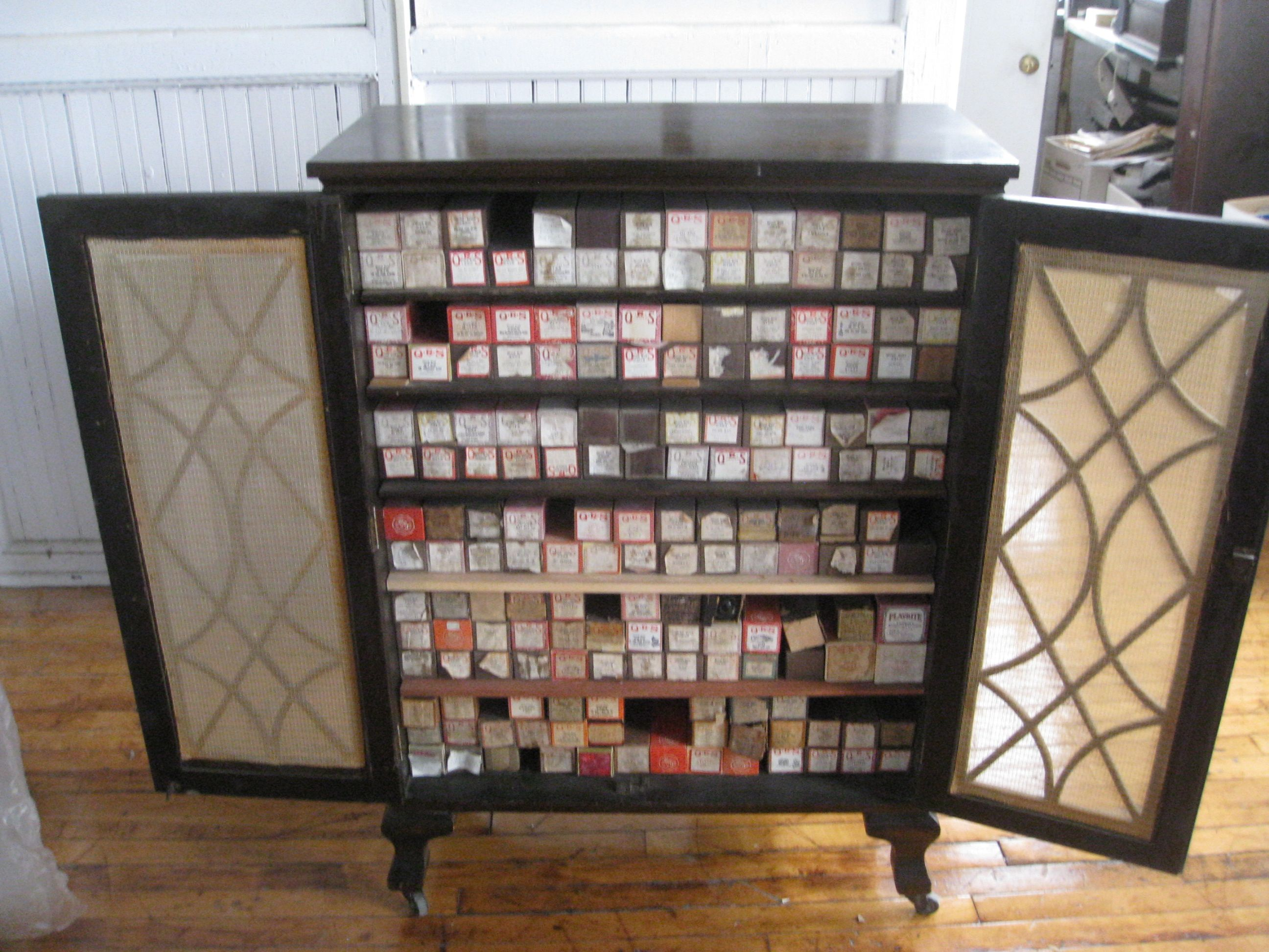 player+piano+rolls | Player Piano Roll Cabinet | What to do with ...