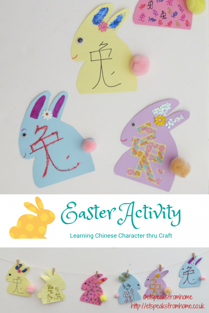 Easter Chinese Character Activity | Easter activities, Crafts ...