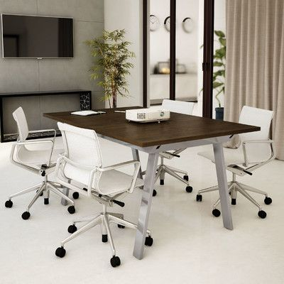 Amisco 7 52 Rectangular Conference Table Reviews Wayfair Supply Conference Table Table Home Decor