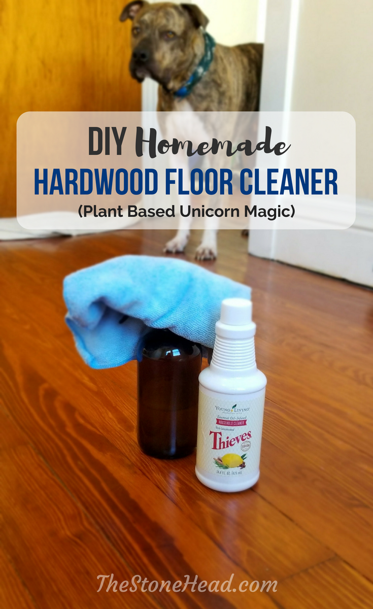 diy hardwood floor cleaner with thieves cleaner | life made easier