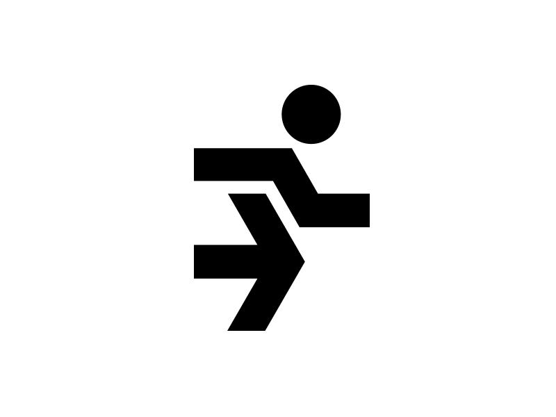 Run Medical Logo Design Running Man Logo Share Logo