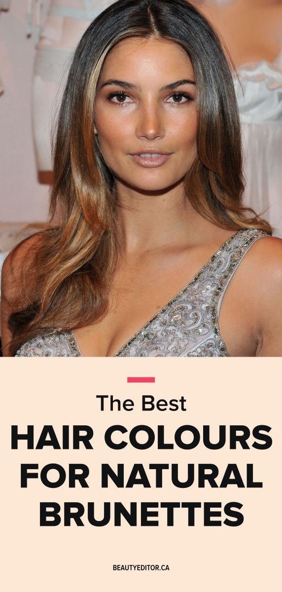 The Best Hair Colours For A Natural Brunette Hairstylists