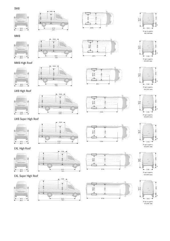 Mercedes Sprinter 15m3 Dimensions Beautiful Mercedes Sprinter Camper Mercedes Sprinter Vw Bus Umbau