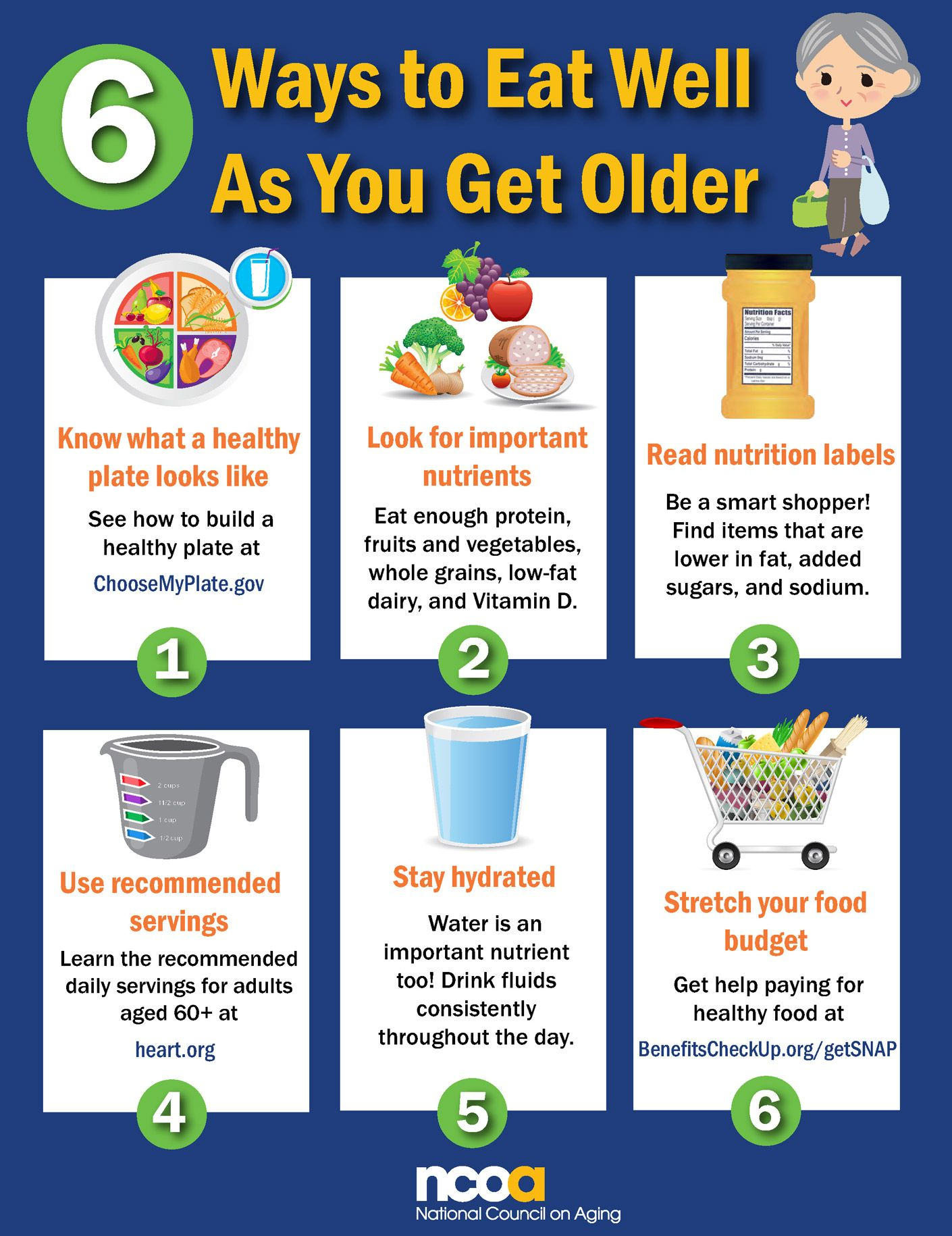 Senior Nutrition Healthy Eating Tips & Resources